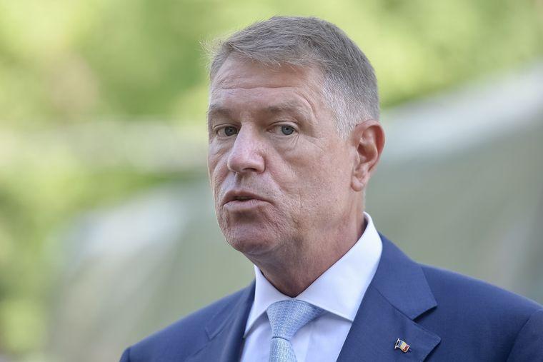 Klaus Iohannis, Președintele României.
