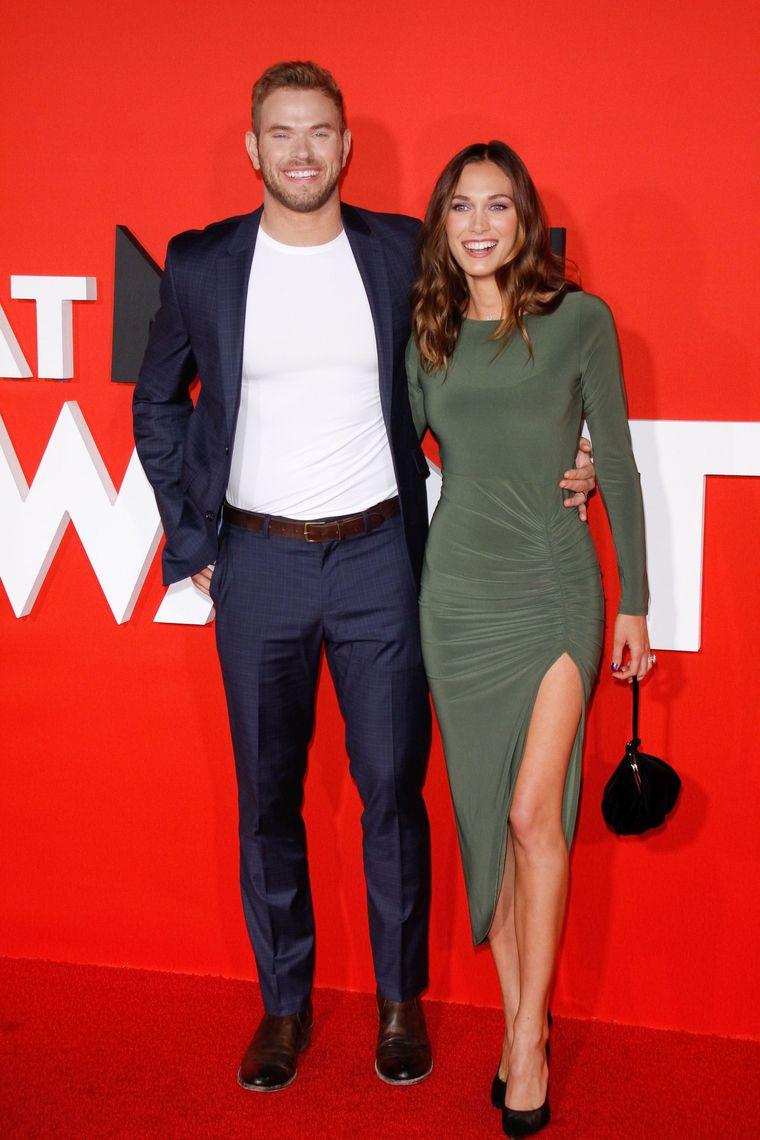 Kellan Lutz și soția