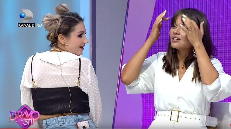 Bianca Rus si Cristina Siscanu in scandal