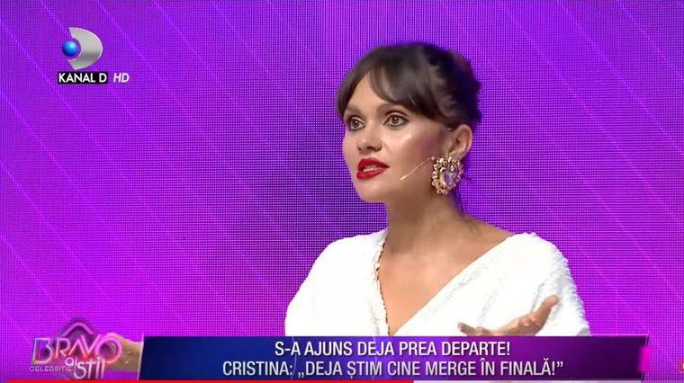 Cristina Sicanu revoltata la Bravo ai stil - Celebrities