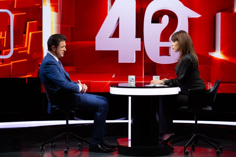 Gica Popescu la 40 de intrebari cu Denise Rifai