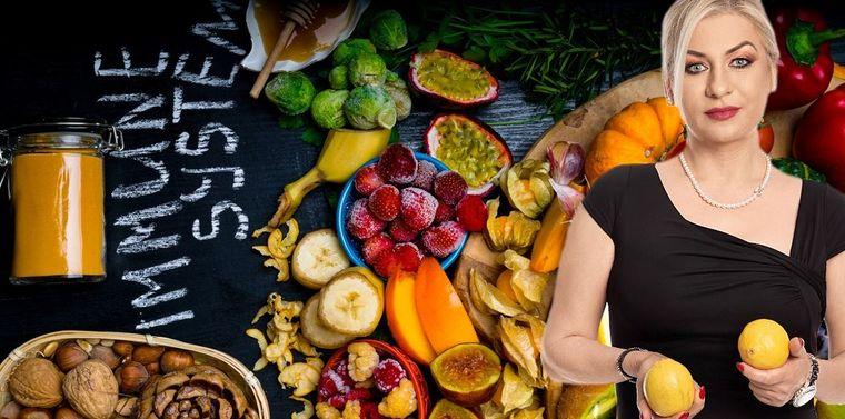 Nutriţionistul Vera Daghie, totul despre alimentele care ne cresc imunitatea!
