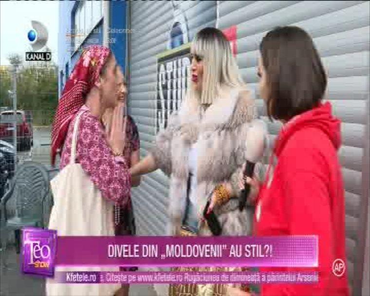 Raluca Badulescu, nevoita sa dea stelute unor moldovence insistente!