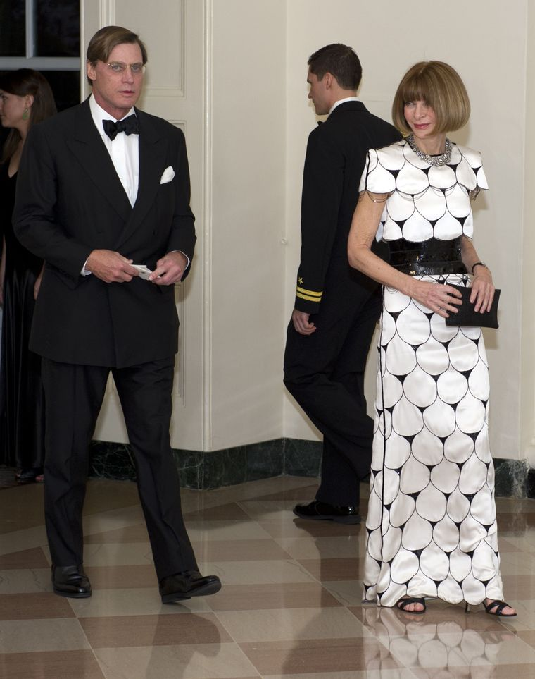 Anna Wintour si Shelby Bryan