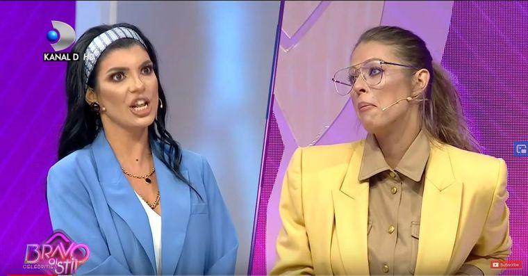 Andreea Tonciu se răstește la Roxana Nemeș