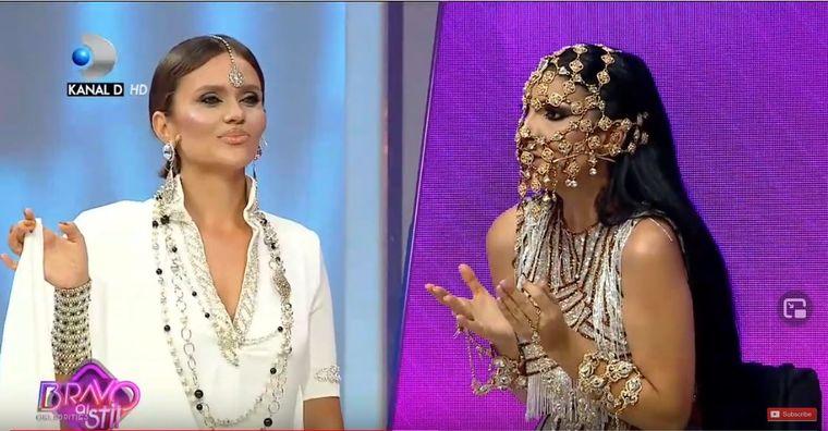 Cristina Șișcanu și Andreea Tonciuau pornit din nou scandalul in platou