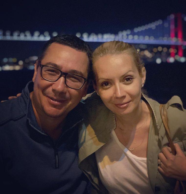Victor Ponta si Daciana Sarbu