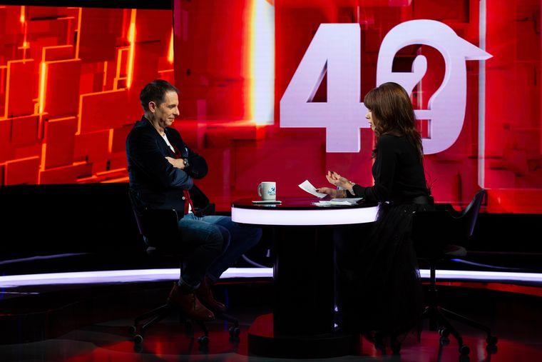 """Dan Negru, următorul invitat la """"40 de întrebări cu Denise Rifai"""", marți, 12 ianuarie, de la ora 22:30, la Kanal D"""