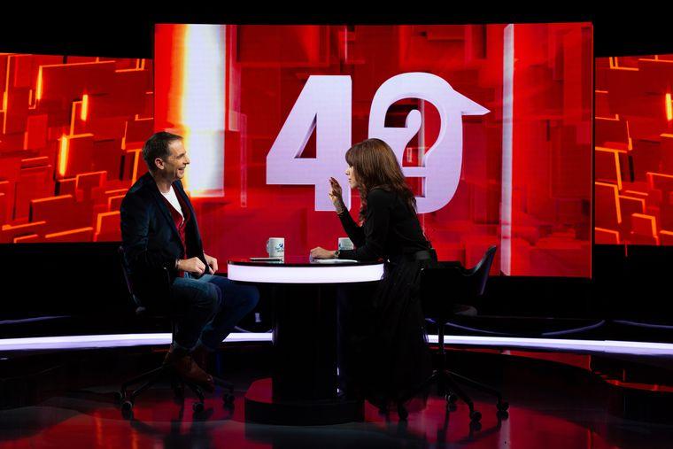 """Dan Negru, invitatastăzi,la """"40 de întrebări cu Denise Rifai"""", de la ora 22:30, la Kanal D"""