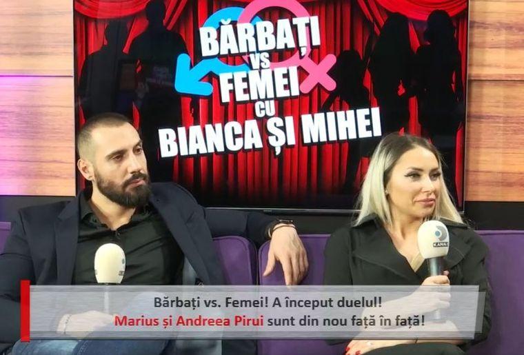 Andreea Pirui și Marius s-au împăcat