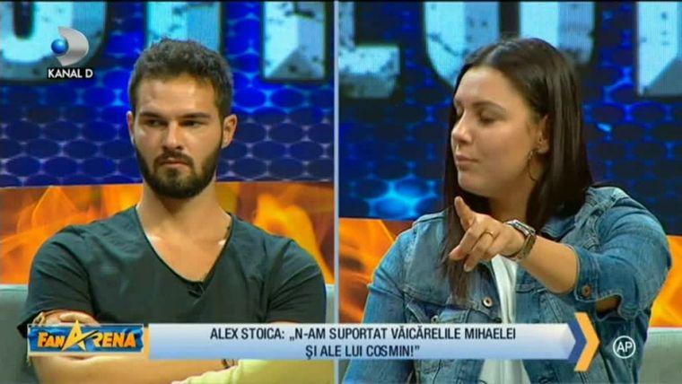 Alex Stoica şi Ana Mihaela s-au certat la Exatlon