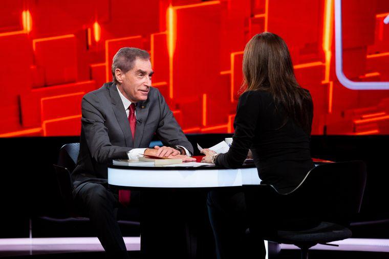 """Ediția de aseară a emisiunii """"40 de întrebări cu Denise Rifai"""", cu Petre Roman invitat, a fost urmărită de peste un milion de telespectatori"""