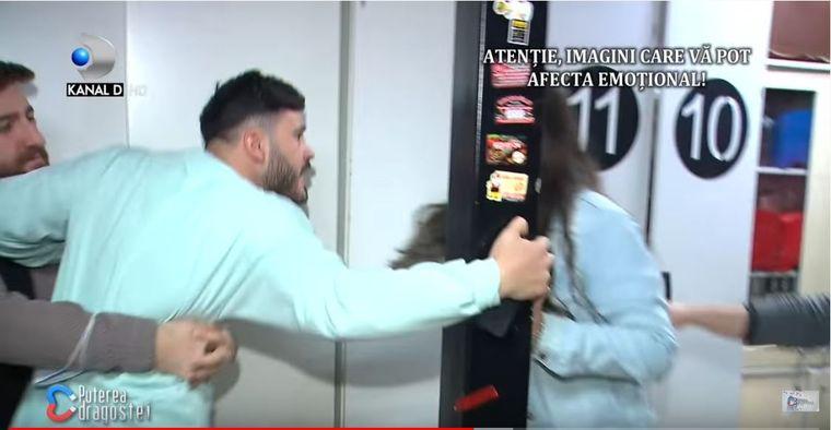 O nouă bătaie între George și Cristian Marinescu de la Puterea Dragostei! Mădălina s-a prăbușit pe podea și a făcut atac de panică!