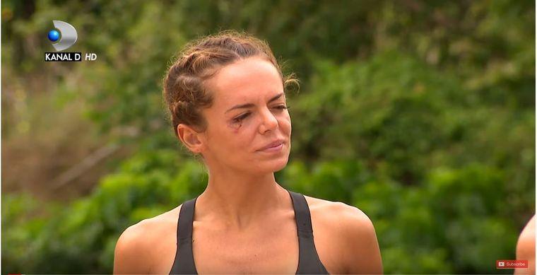 Cine a lovit-o pe Simona Hapciuc de la Survivor România: