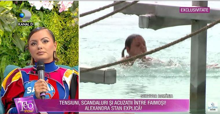 Alexandra Stan a făcut dezvăluiri în exclusivitate despre ce a trăit la Survivor România!