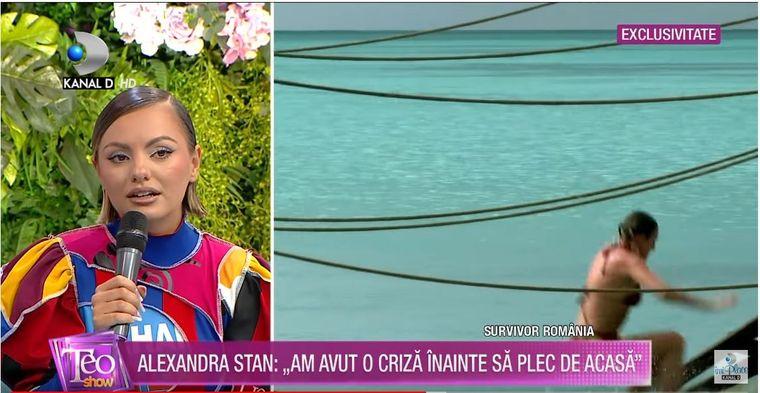 """Alexandra Stan a dezvăluit cine sunt """"șerpii"""" de la Survivor România"""