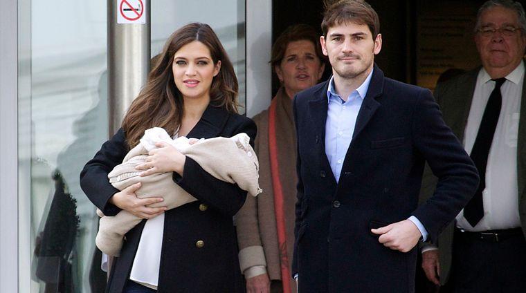 Iker Casillas si Sara Carbonero