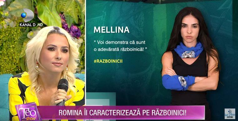 Romina de la Survivor România i-a criticat dur pe Mellina și pe Andrei Dascălu!