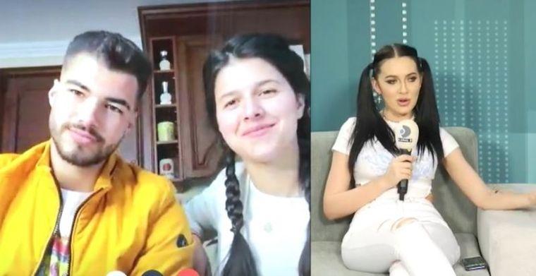 Bianca Comănici și Iancu Serp, declaraţii de dragoste în direct!