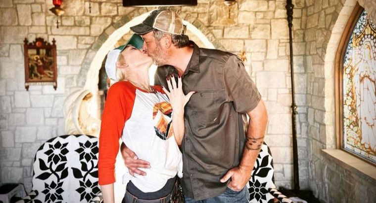 Blake Shelton și Gwen Stefani au stabilit data nunții!