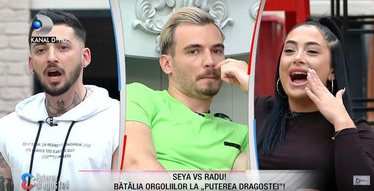 Seya și Radu de la Puterea Dragostei au pornit un scandal monstru!
