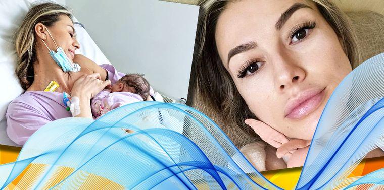 Claudia Neghină a născut! Vedeta a postat primele imagini cu micuța Sofia