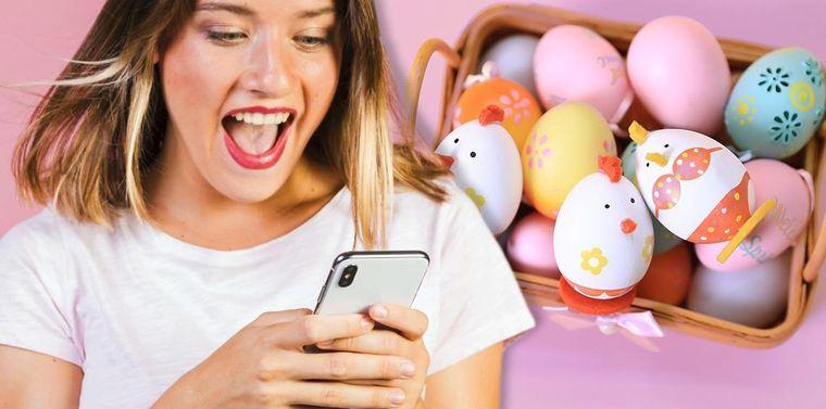 Urări de Paște scurte, dar frumoase, pe care să le trimiți celor dragi de Sărbători