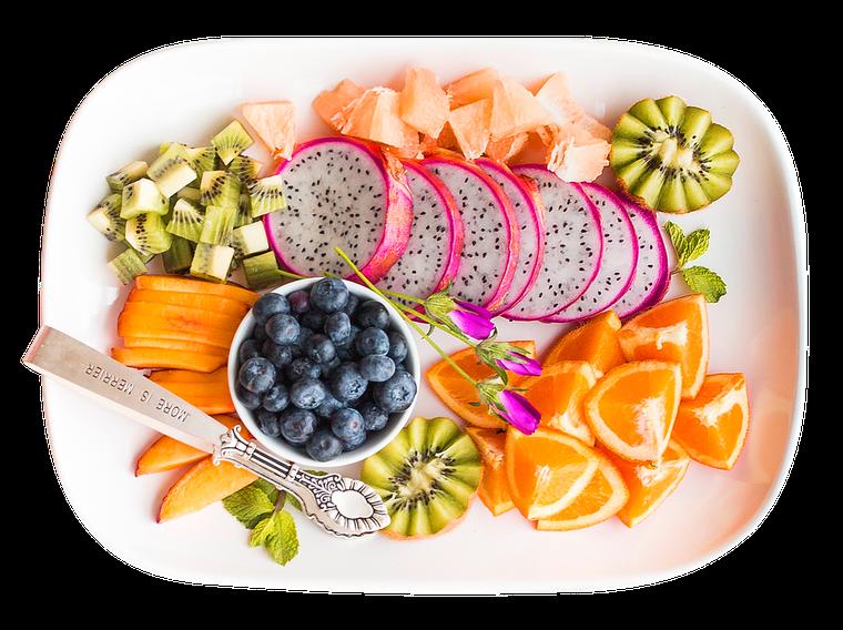 Salată de fructe sănătoasă