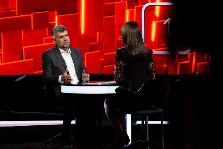 """Marcel Ciolacu, invitatul de marți, 8 iunie,la """"40 de întrebări cu Denise Rifai"""""""