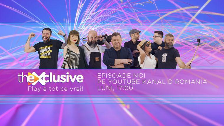 theXclusive este pe YouTube Kanal D Romania! Iata ce v-am pregatit saptamana viitoare! Fiti cu ochii pe noi!