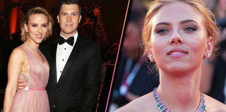Scarlett Johannson și Colin Jost vor deveni părinți! Actrița este însărcinată