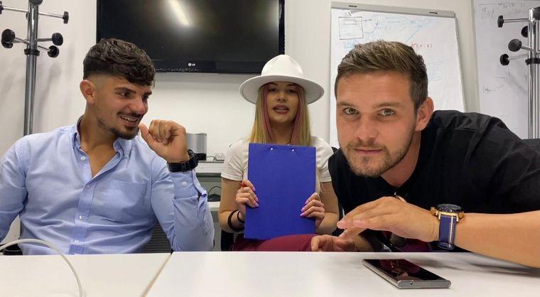 Marius Crăciun și Ștefan Ciuculescu de la Survivor despre Elena Marin