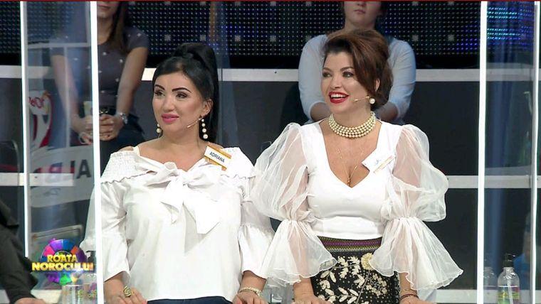 """Adriana Bahmuțeanu și Claudia Ghițulescu învârt """"Roata Norocului"""""""