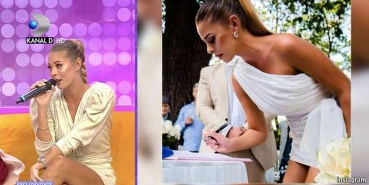 Roxana Nemeș, declarații cu lacrimi în ochi despre nuntă!