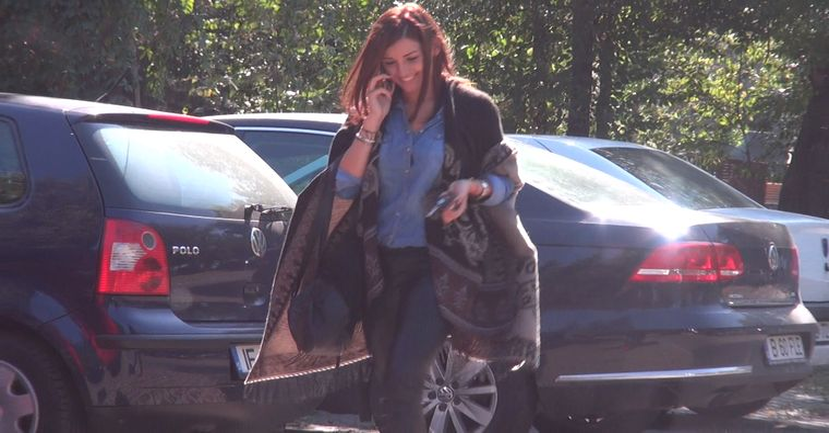 Video WOW   Uite cat de tare s-a imbracat Alina Eremia la intalnire!
