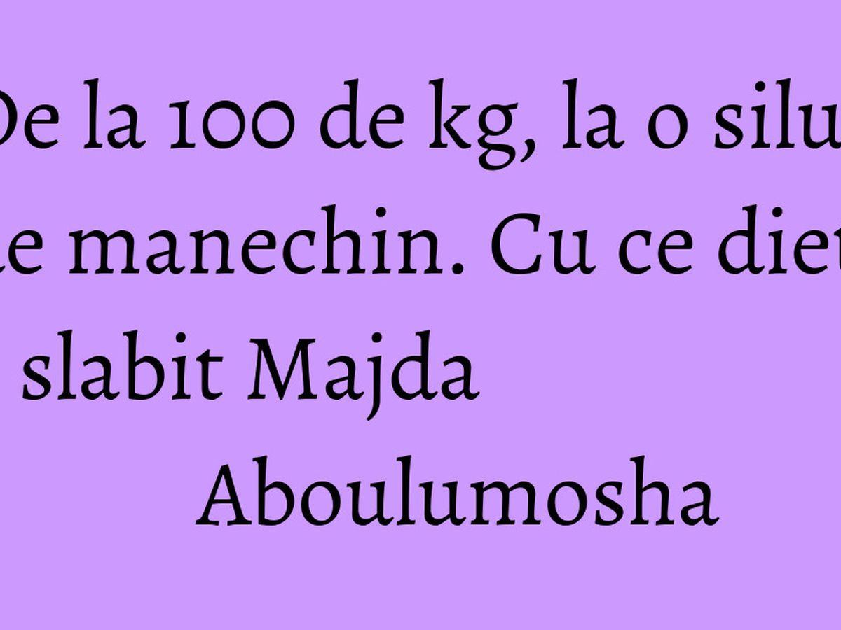 Cum a slăbit Majda 20 de kilograme. Transformare radicală
