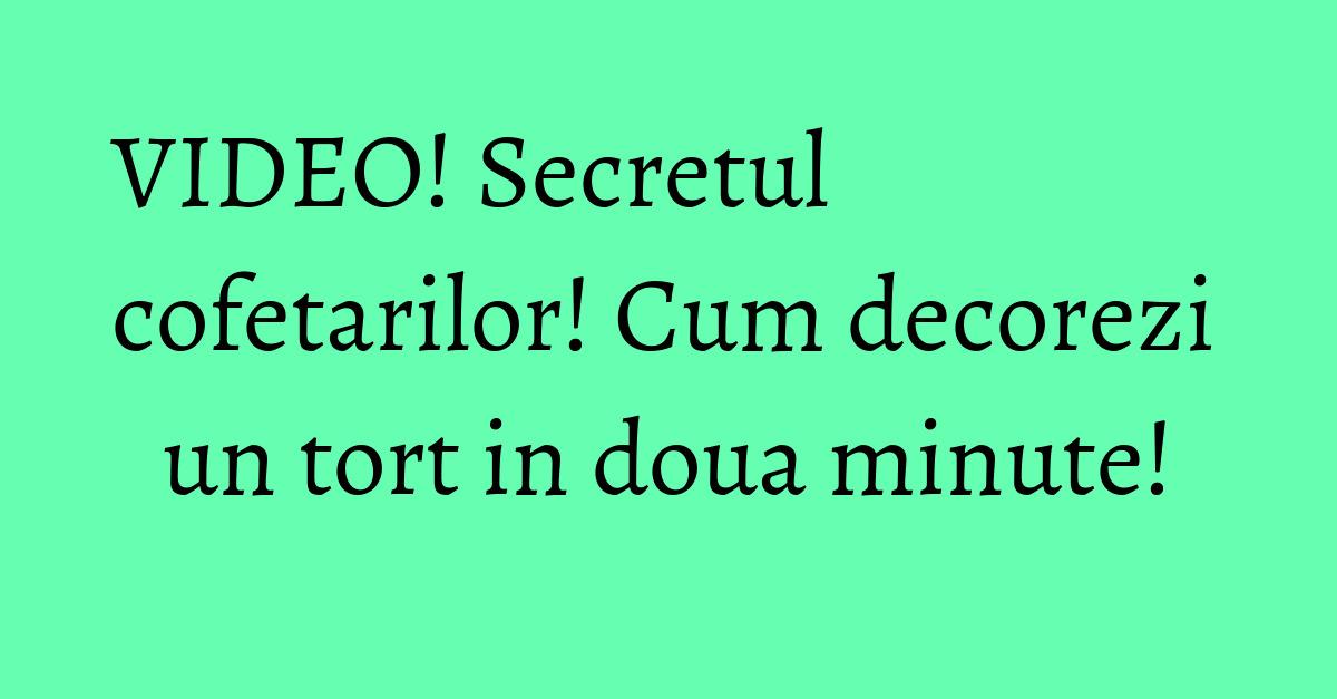 Ornare tort cu ciocolată topita