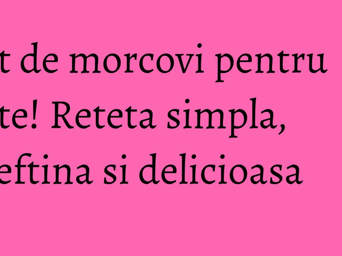 tort de morcovi de slăbire)