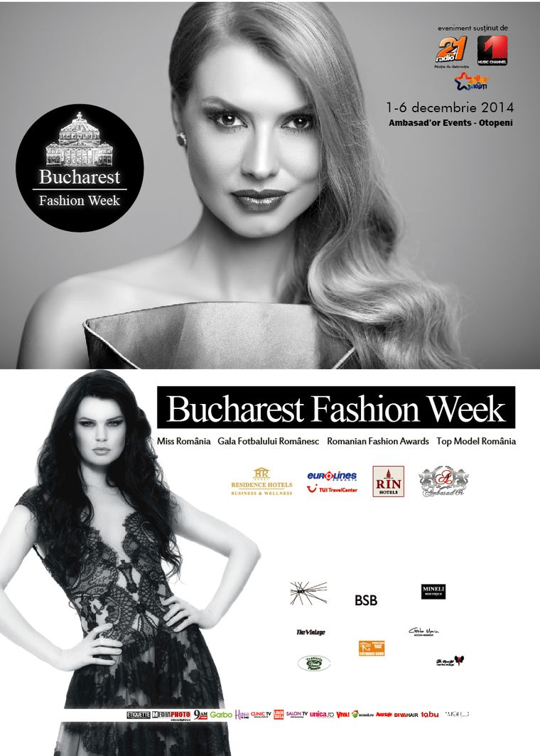 Peste 30 de designeri romani si straini la Bucharest Fashion Week! Iata ce te asteapta!