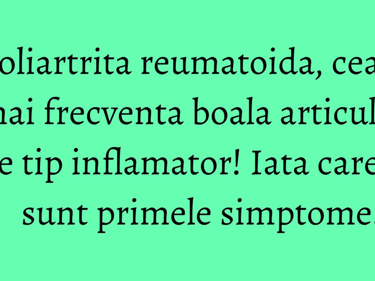 Afla totul despre artroza: Simptome, tipuri, diagnostic si tratament | suceava360.ro