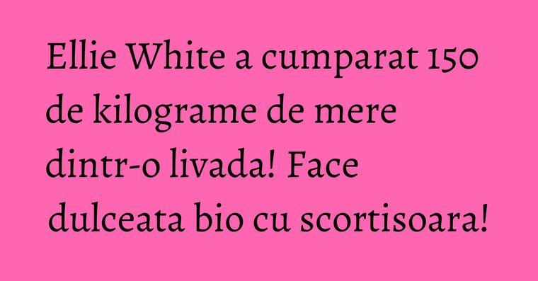 Ellie White a cumparat 150 de kilograme de mere dintr-o livada! Face dulceata bio cu scortisoara!