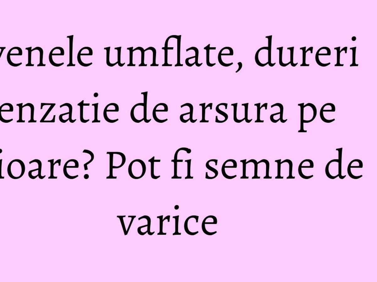 stocarea de la varicoză la genunchi