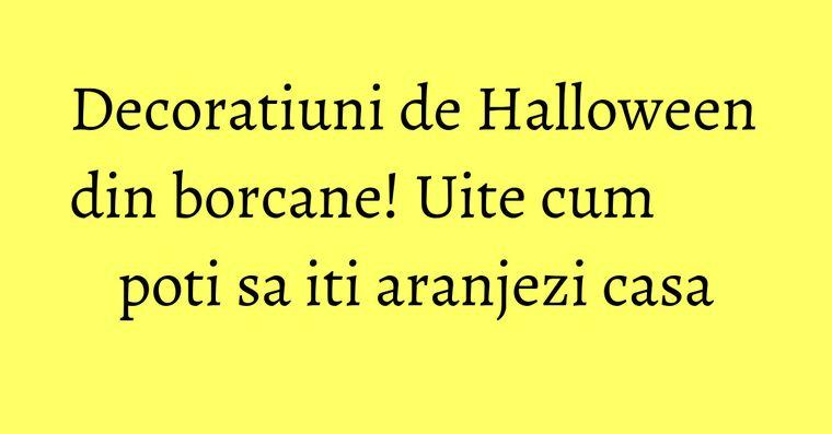 Decoratiuni de Halloween din borcane! Uite cum poti sa iti aranjezi casa