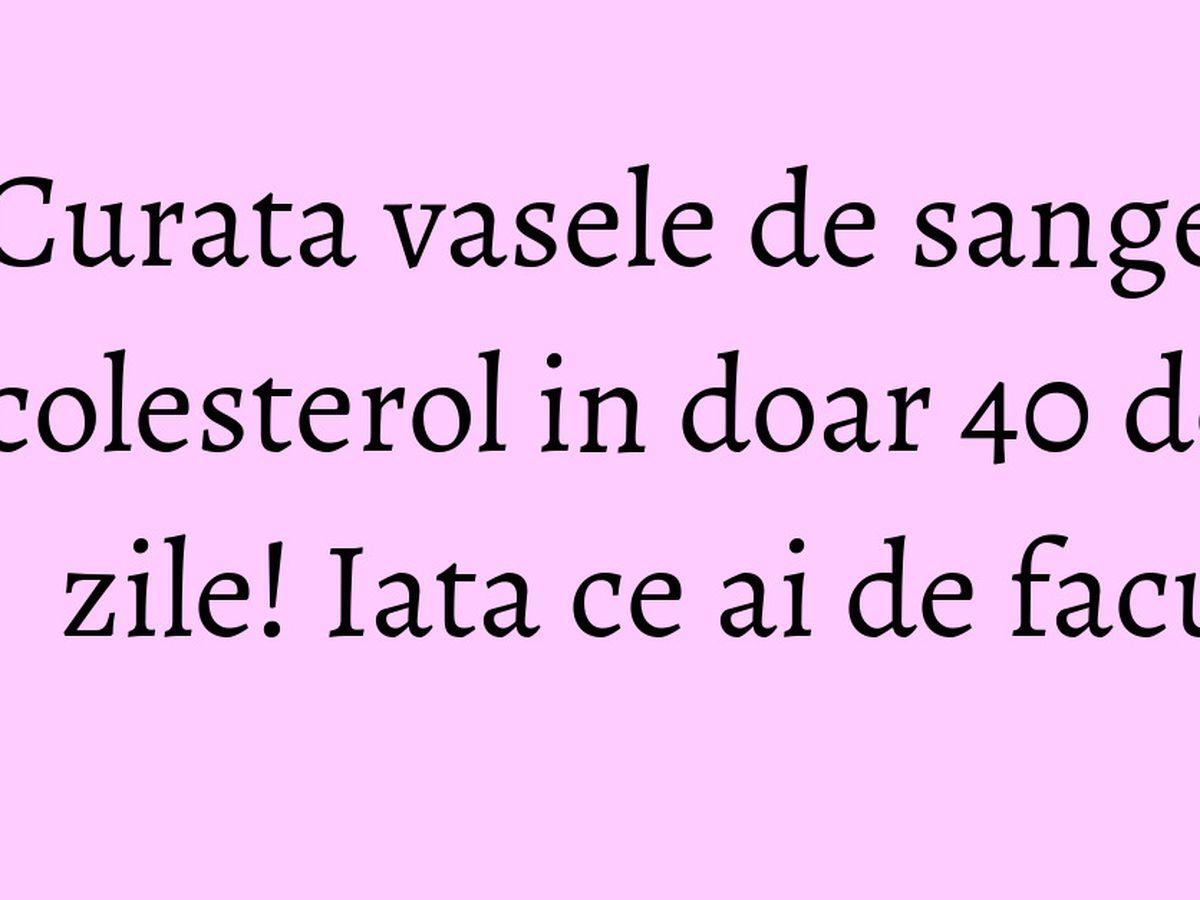 cu ce se curata vasele sanguine