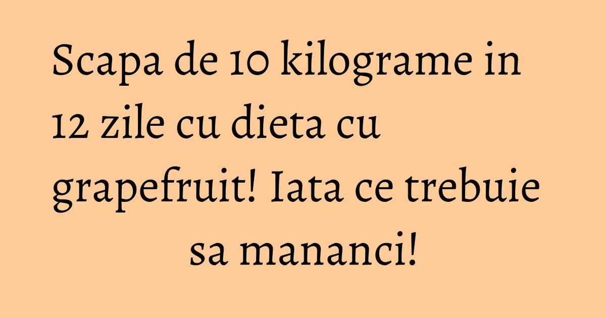 Dieta de slabit cu oua si grapefruit