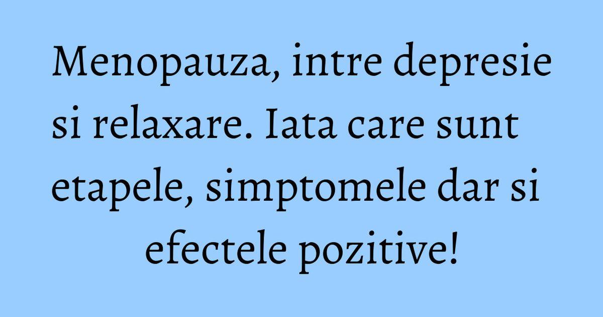 Menopauza: ce este, cand apare si care sunt simptomele ei