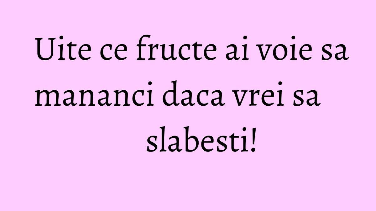 5 dintre cele mai bune fructe pentru siluetă - Doza de Sănătate