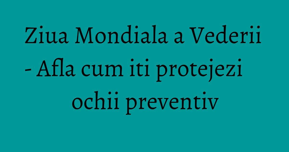 vitamine directe pentru vedere viziunea este restabilită de la exercițiu