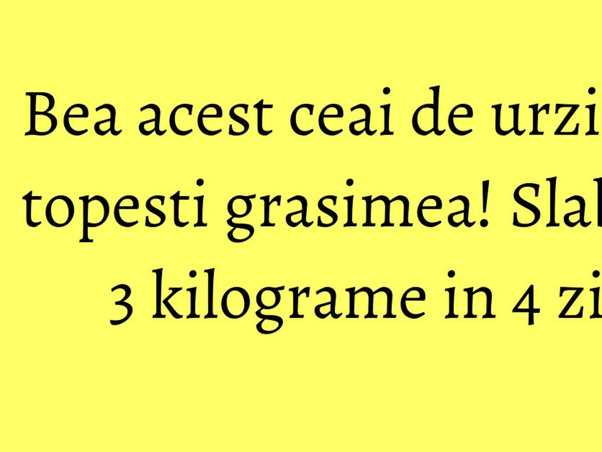 ceai de urzica ajuta la slabit