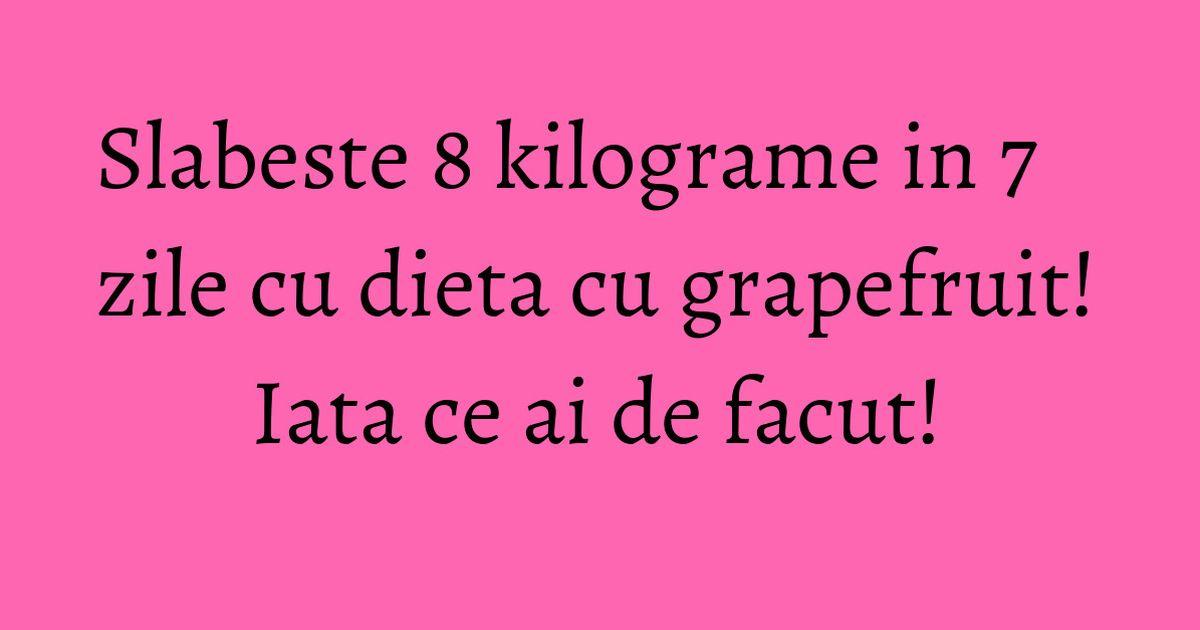 Dieta cu grepfrut: slăbește în timp record!